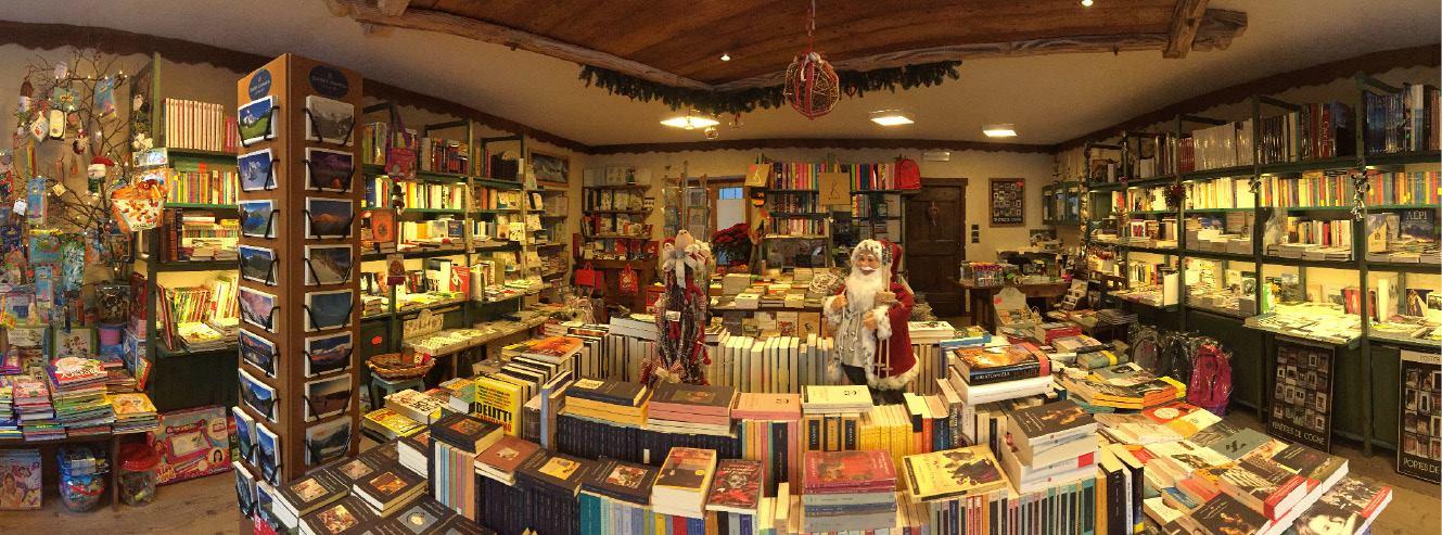 MONTAGNE DI CARTA - Il bosco dei libri - Caffè Libreria & Sala da Tè - Cogne